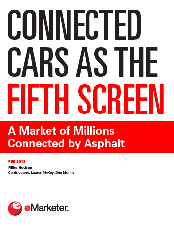 Connected Cars as the Fifth Screen