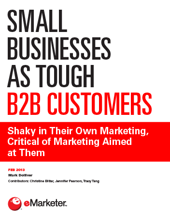 Small Businesses as Tough B2B Customers