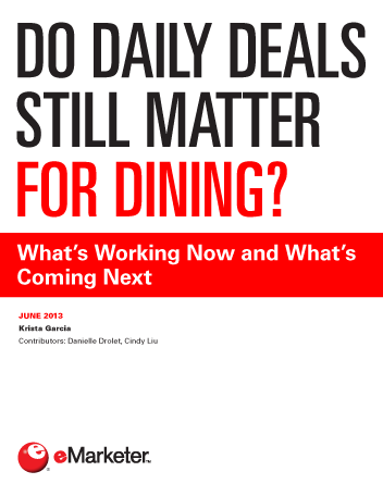 Do Daily Deals Still Matter for Dining?