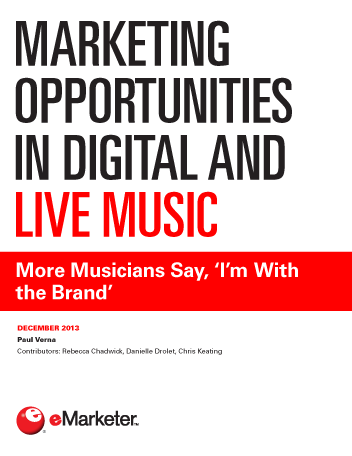 Marketing Opportunities in Digital and Live Music