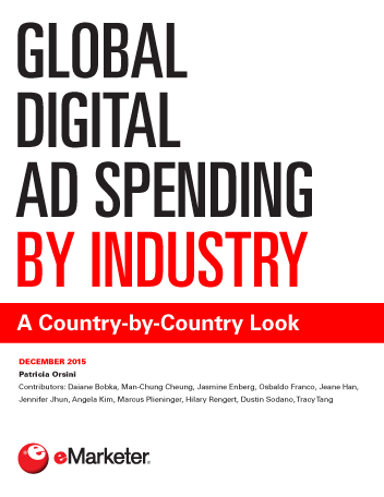 Global Digital Ad Spending by Industry