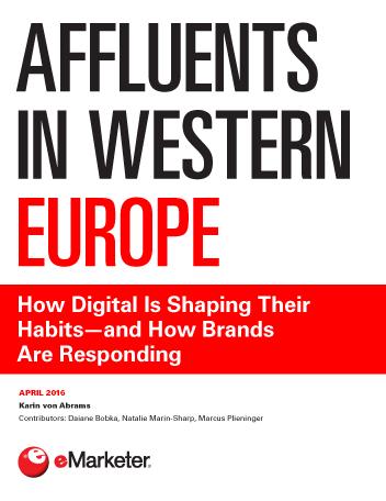 Affluents in Western Europe