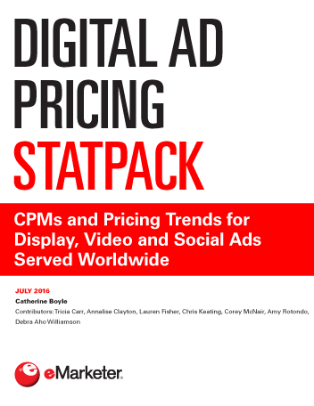 Digital Ad Pricing StatPack