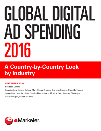 Global Digital Ad Spending 2016