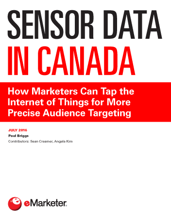 Sensor Data in Canada