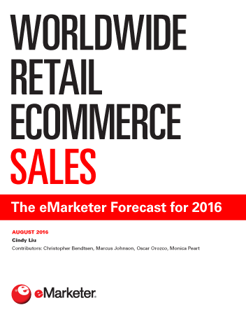 Worldwide Retail Ecommerce Sales The Emarketer Forecast