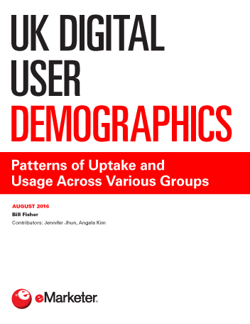UK Digital User Demographics