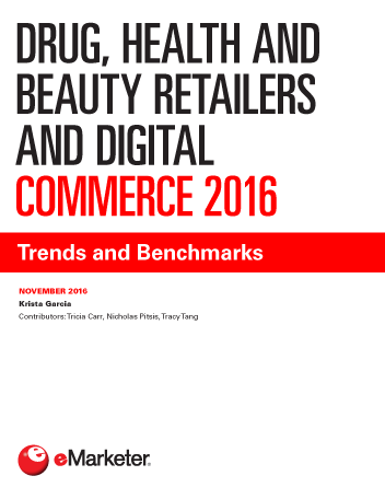 Drug, Health and Beauty Retailers and Digital Commerce 2016