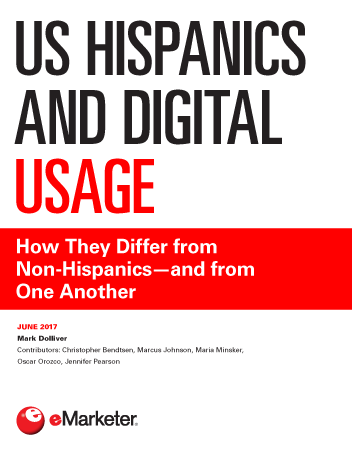 US Hispanics and Digital Usage: How They Differ from Non-Hispanics—and from One Another