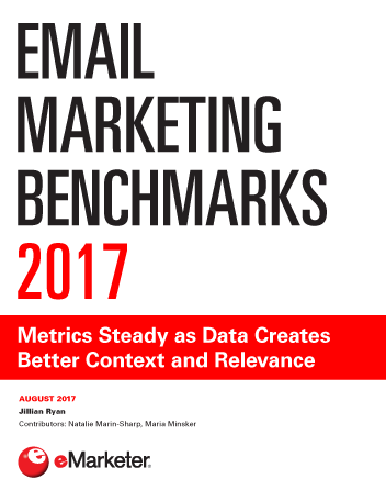 Email Marketing Benchmarks 2017