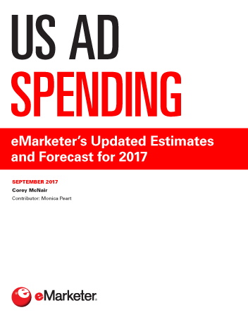 us ad spending emarketers updated estimates and forecast for 2017