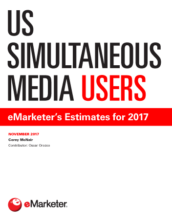 US Simultaneous Media Users: eMarketer's Estimates for 2017