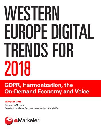 Western Europe Digital Trends for 2018