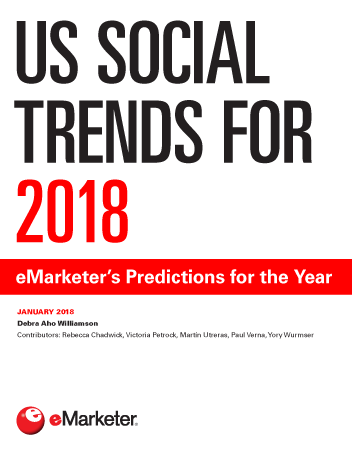 US Social Trends for 2018: eMarketer's Predictions for the Year