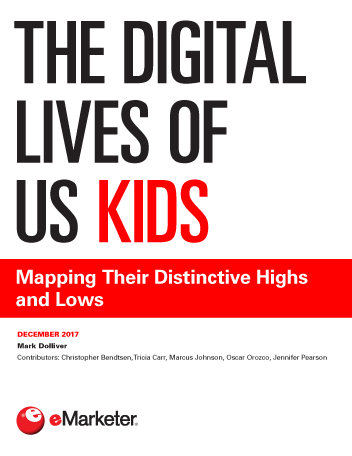The Digital Lives of US Kids: Mapping Their Distinctive Highs and Lows