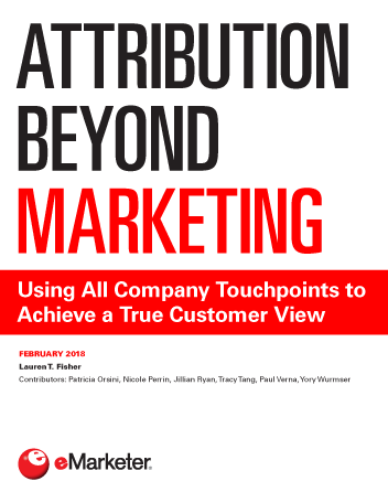 Attribution Beyond Marketing